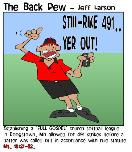 softball cartoons, umpire cartoons, sports cartoons, umpire strike cartoons