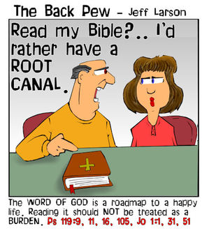 bible reading cartoons, bible reading plan cartoons, christian cartoons
