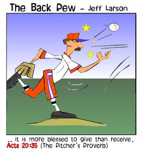 baseball cartoons, christian cartoons, umpire cartoons, sports cartoons, pitcher cartoons