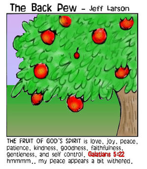 christian cartoons, gifts of the spirit cartoons, holy spirit cartoons, fruit of the spirit cartoons, Galatians 5:22