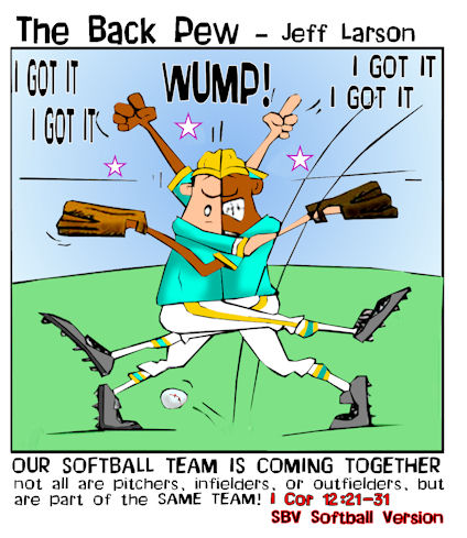 baseball cartoons, christian cartoons, umpire cartoons, sports cartoons, fielder cartoons