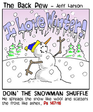 snowman cartoons, christian cartoons