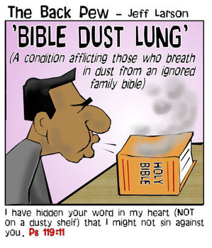bible reading cartoons, christian cartoons, bible cartoons, bible dust cartoons