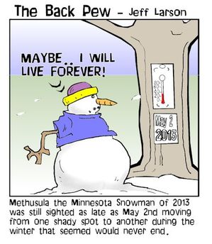 snowman cartoons, christian cartoons, snowman in may cartoons
