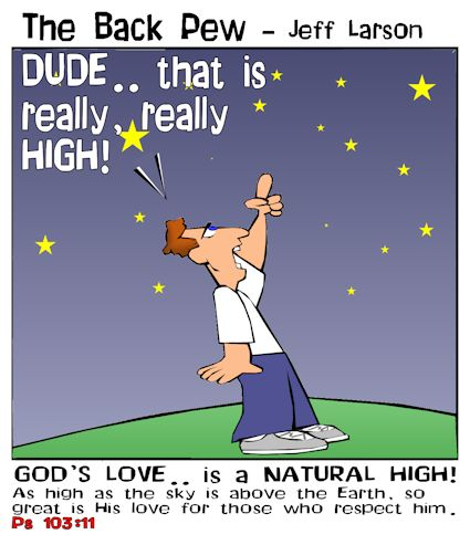 christian cartoons, astronomy cartoons