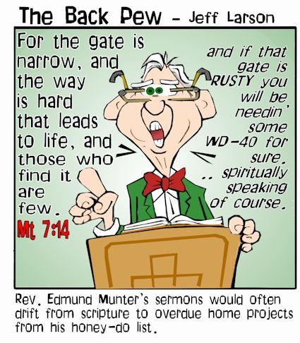 senior citizen cartoons, seniors cartoons, sermon cartoons, church cartoons