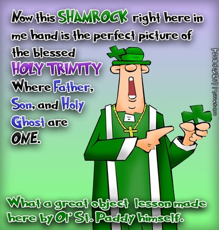 St Patrick\'s Day Cartoons: The Back Pew - The Back Pew