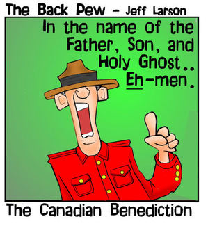 canada cartoons, canadian cartoons, christian cartoons, canadian benediction cartoons