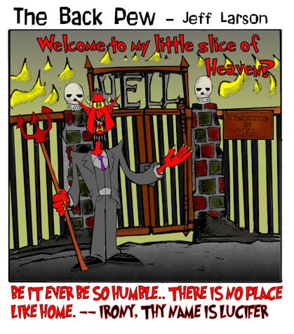 hell cartoons, devil cartoons, demon cartoons, gates of hell cartoons