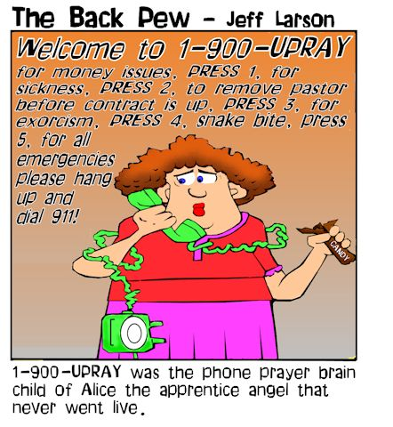 telephone cartoons, christian cartoons