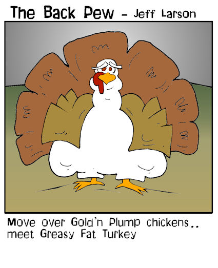 fat turkey cartoons for thanksgiving