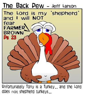 bible cartoons, turkey cartoons, thanksgiving cartoons,