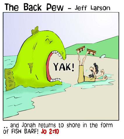 Fish Cartoons The Back Pew Bp
