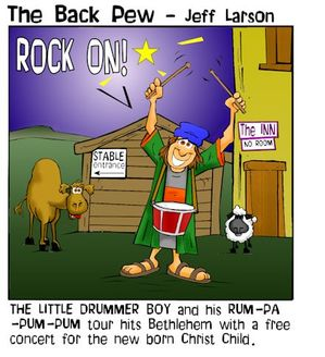 christmas cartoons, little drummer boy cartoons, birth of jesus cartoons