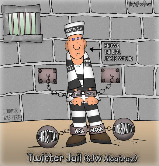 This Twitter Cartoon illustrates the fate of those who are deemed unworthy by the Social Justice Warriors gods running TwitterPicture