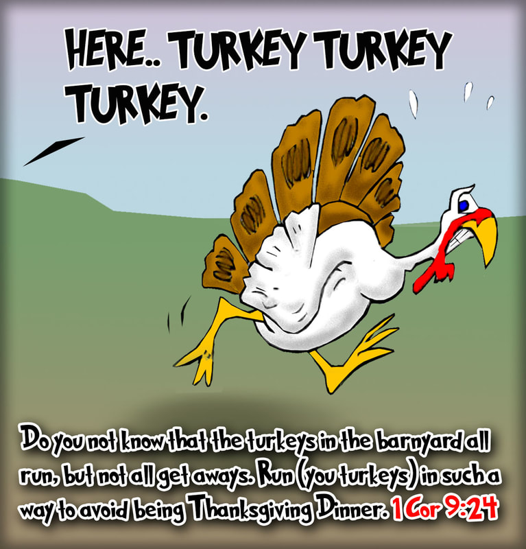 bible cartoons, turkey cartoons, thanksgiving cartoons